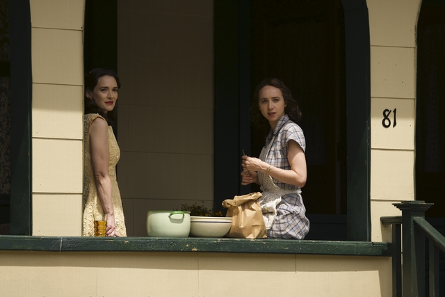 Winona Ryder, left, and Zoe Kazan in 'The Plot Against America'