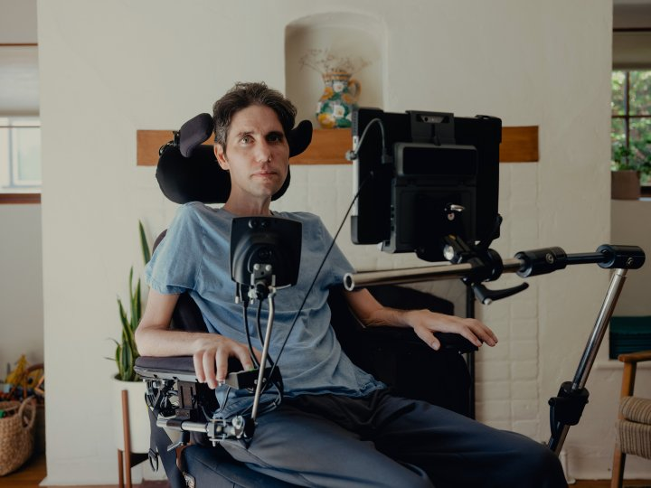 "ALS ""made me really see what a moral abomi-nation our health care system is."" — Ady Barkan, health care activist"