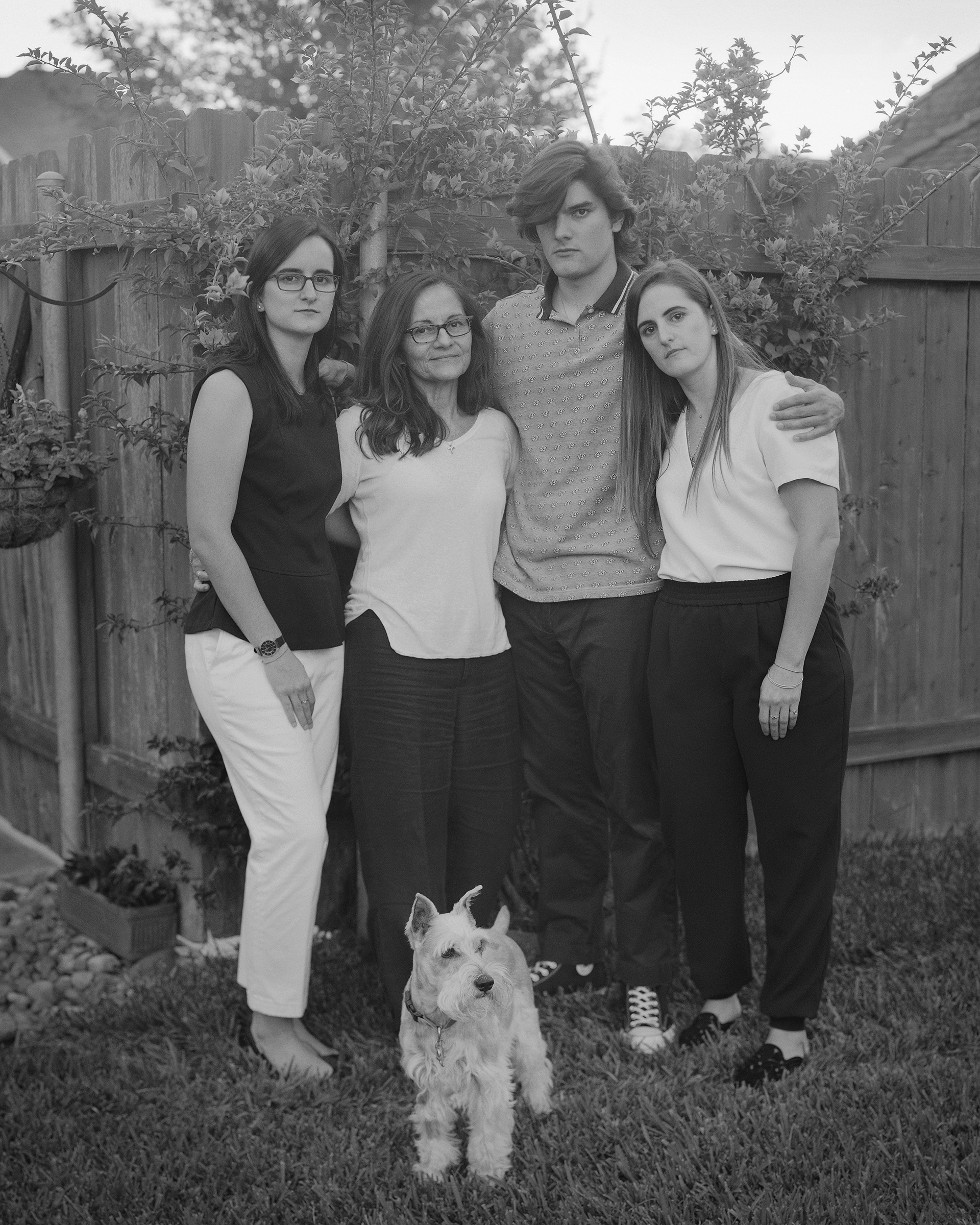 The Vadell family, in October