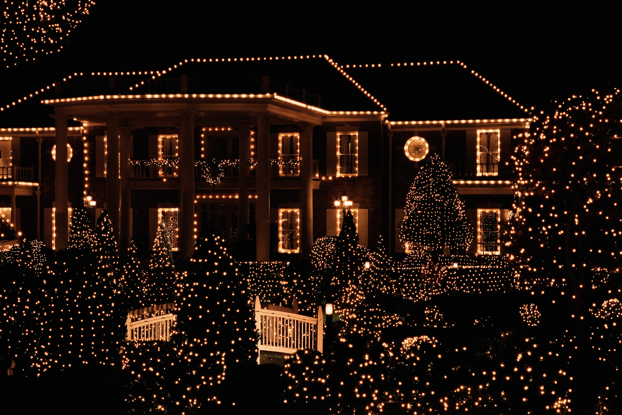 Christmas Lights Bring Some Cheer to Social Distancing  Time