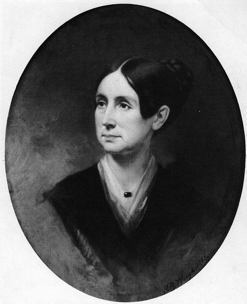 A circa 1868 portrait of Dorothea Dix.