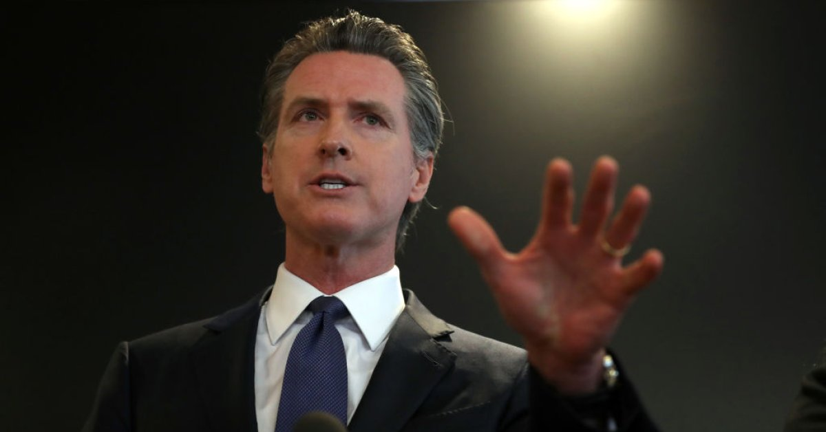 California Gov. Gavin Newsom Says Federal Government Gave Them '170 Broken Ventilators'