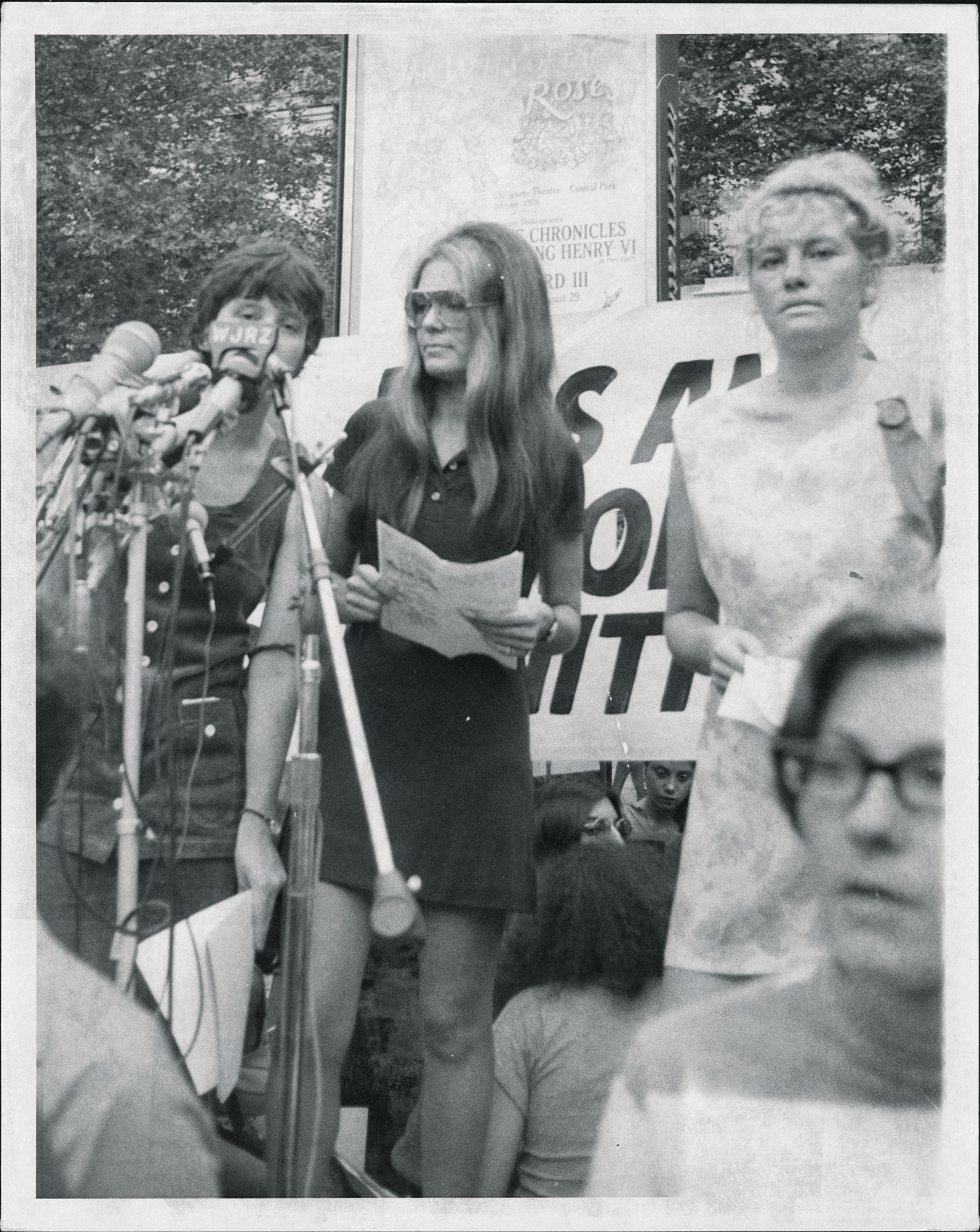 Gloria Steinem on Aug. 27, 1970.