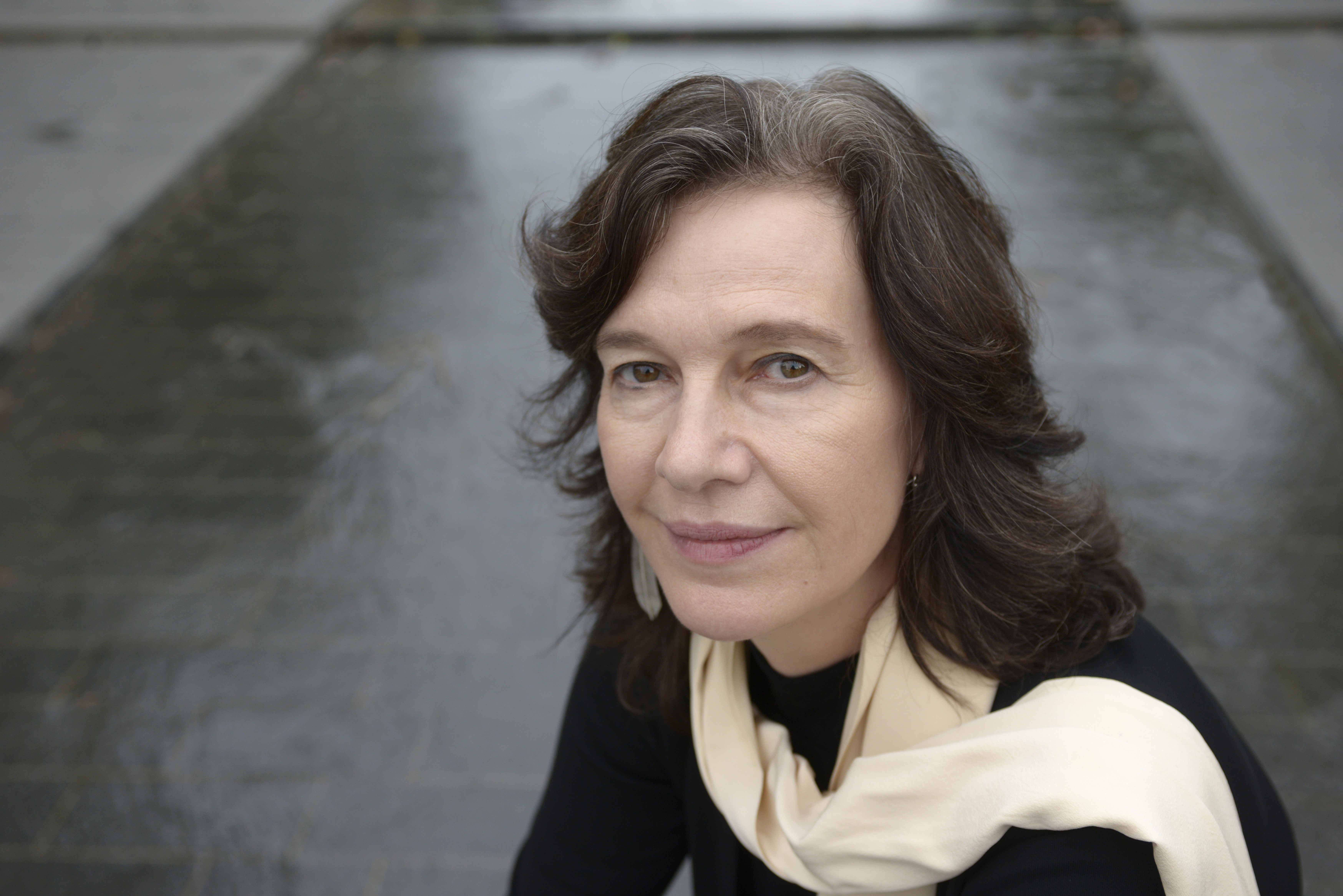 Writer Louise Erdrich on Sept. 23, 2012 in Paris, France.