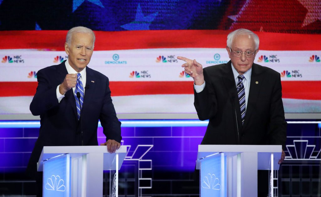 Sanders and Biden to Face Off in Debate on Sunday, Amid a Winnowing Primary and COVID-19. Here's What to Know thumbnail