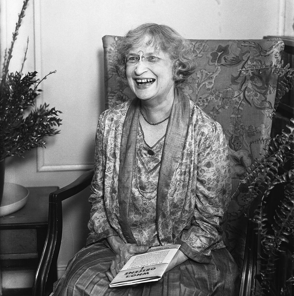 Mary Ware Dennett at home on March 3, 1930.