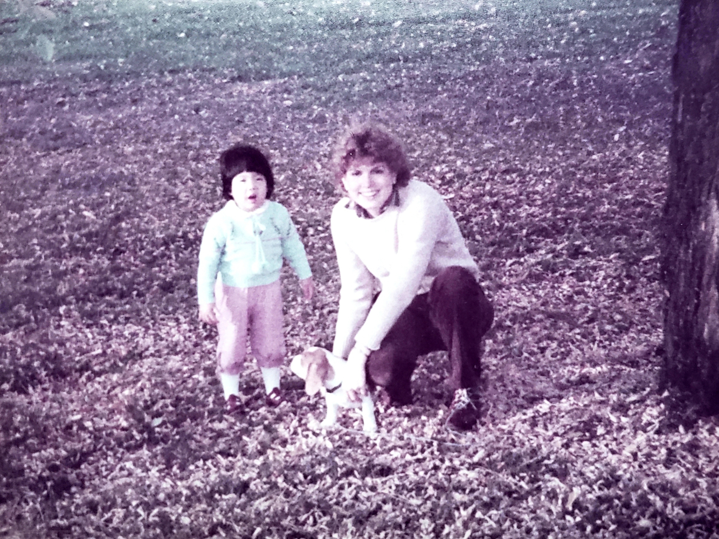 The author and her mother, photographed in Oregon in the 1980s.