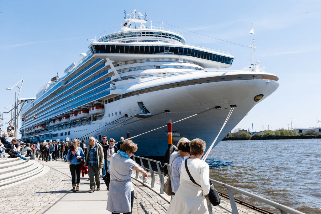 The cruise ship Caribbean Princess