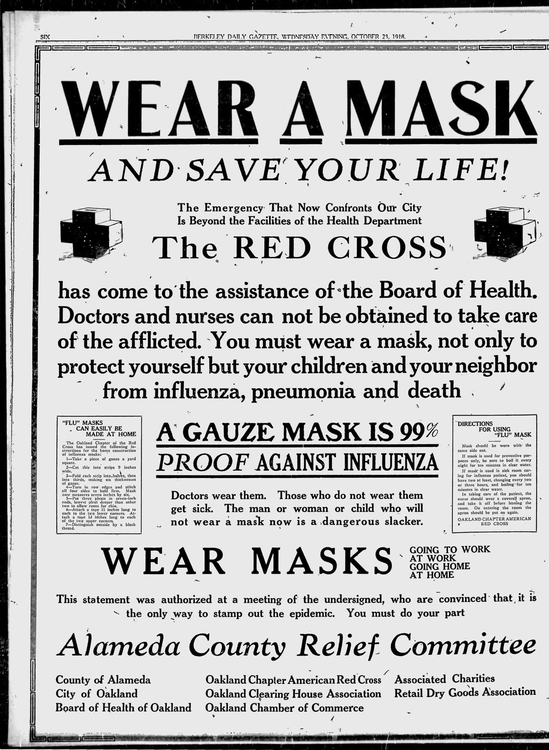 Newspaper Ads on the Spanish Flu Echo Coronavirus Messaging   Time