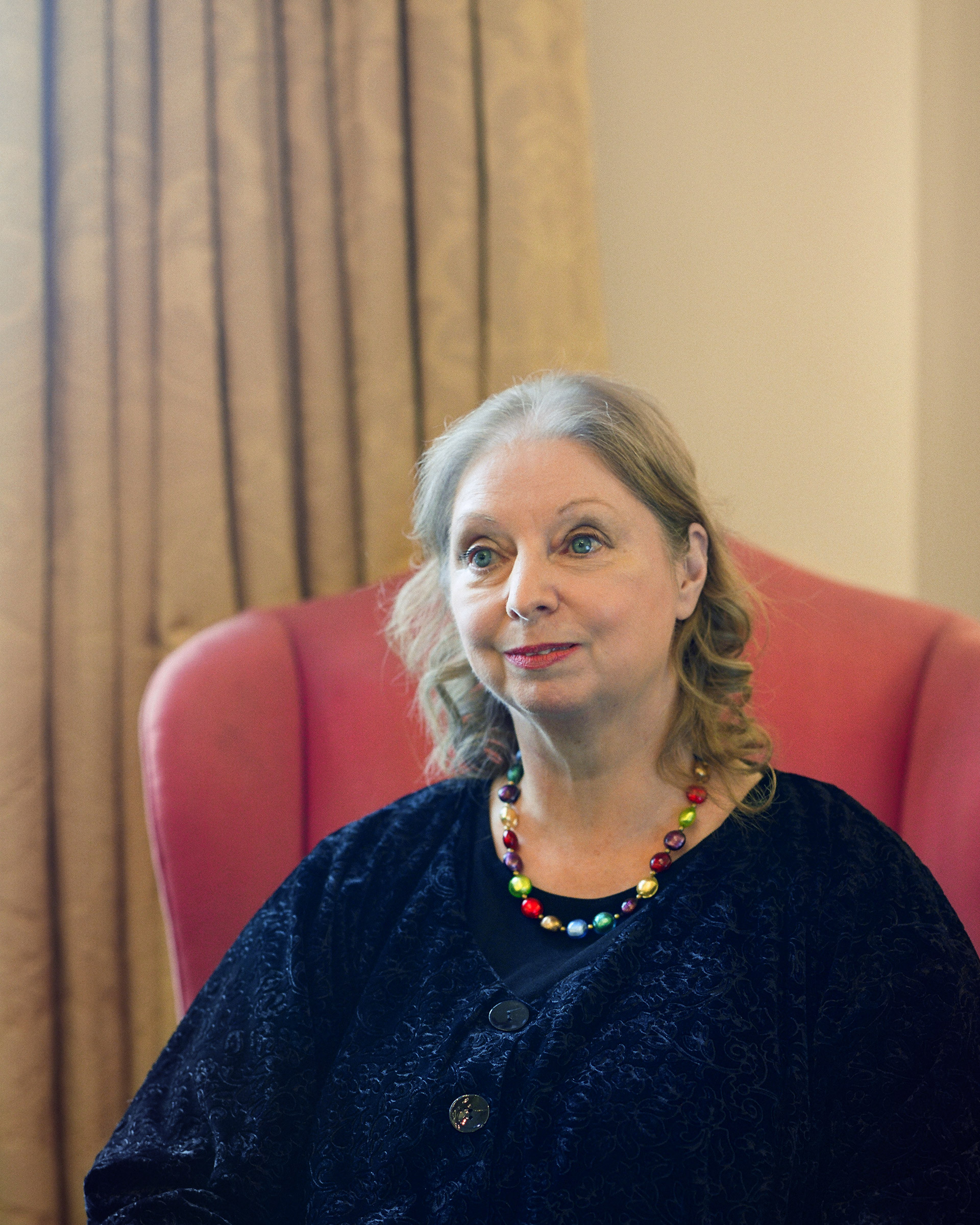 Hilary Mantel photographed at Gray's Inn in London, England on Feb. 19, 2020.