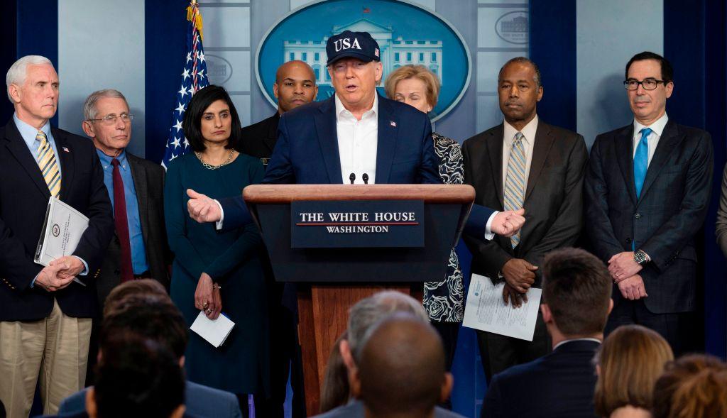 Президент Трамп говорит, что он был проверен на коронавирус thumbnail