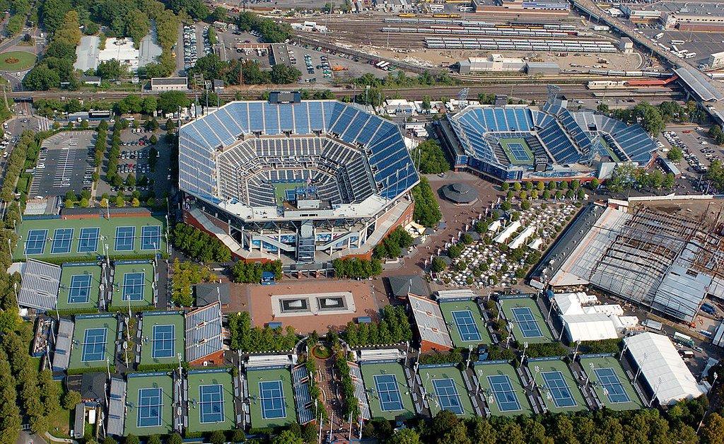 U.s. open tennis coronavirus hospital