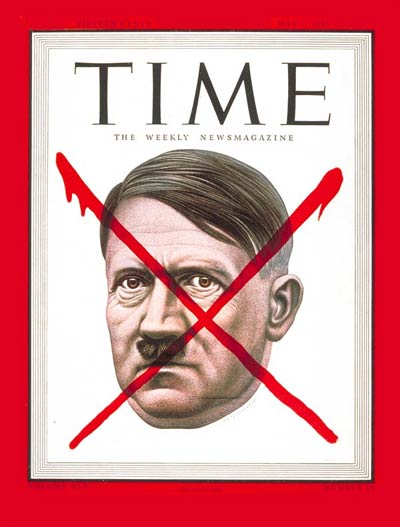 The May 7, 1945, cover of TIME