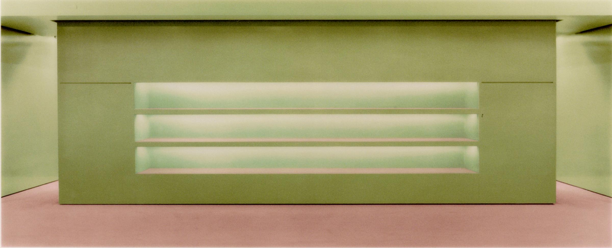 Andreas Gursky's  Prada II,  1996