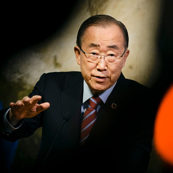 At the U.N., Ban emphasized climate change, sustainability and gender equality