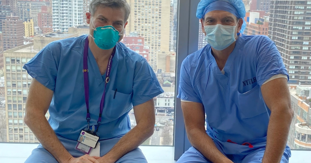 Watch a New York City Doctor Describe How Medical Professionals Fight Against COVID-19