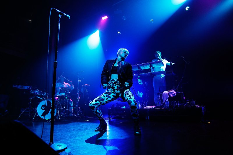Robyn, performing in New York City in 2010, the year she released  Dancing on My Own.