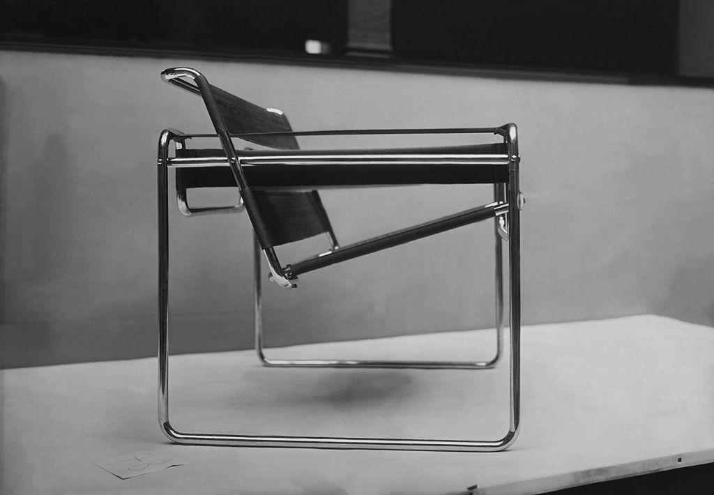 Wassily Chair, B3, design By Marcel Breuer at Bauhaus School