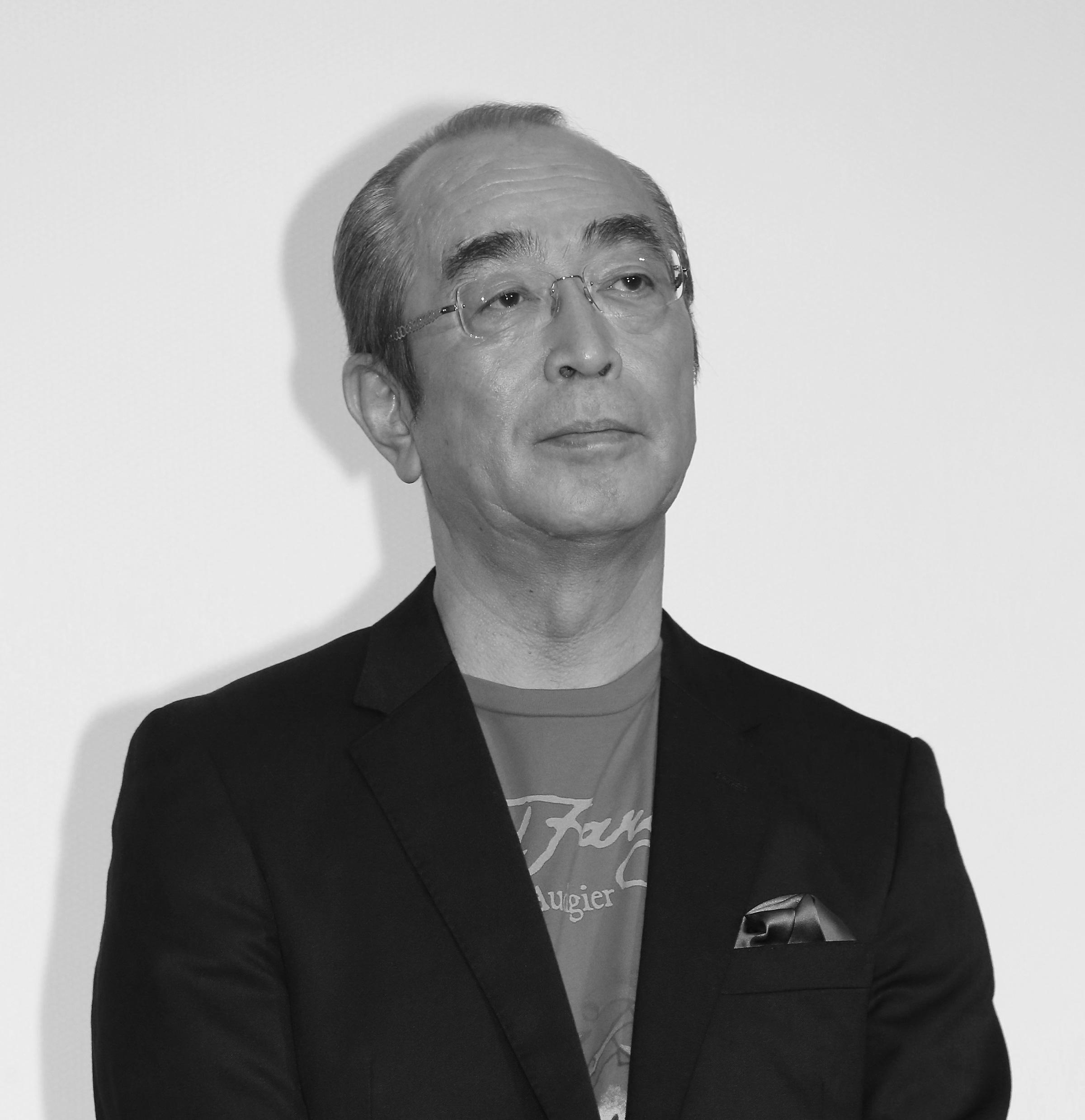 Comedian Ken Shimura in Tokyo on Dec. 20, 2014.