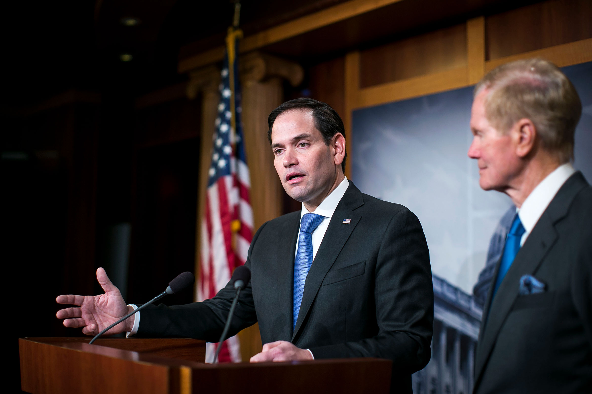 Senator Rubio (R., Fla.) supported the Paycheck Protection Program, part of the $2 trillion U.S. stimulus.