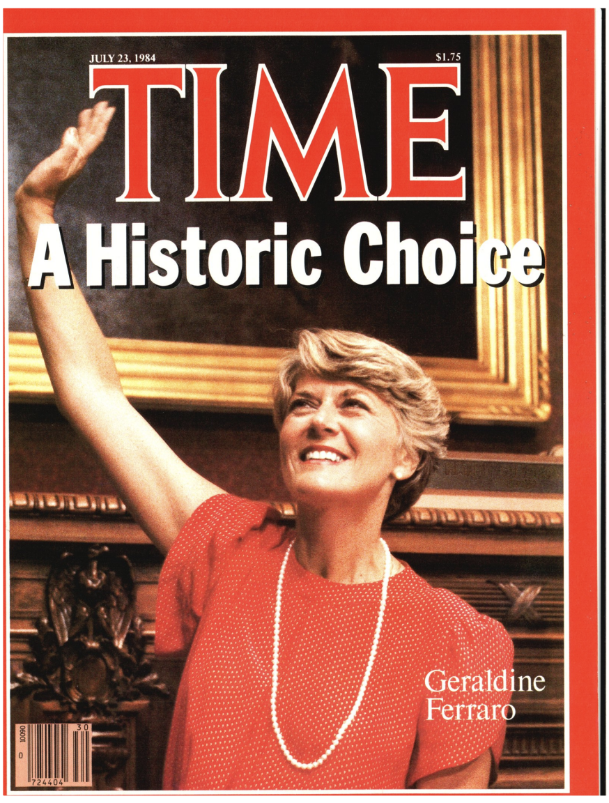 The cover of TIME Magazine the week of July 23, 1984
