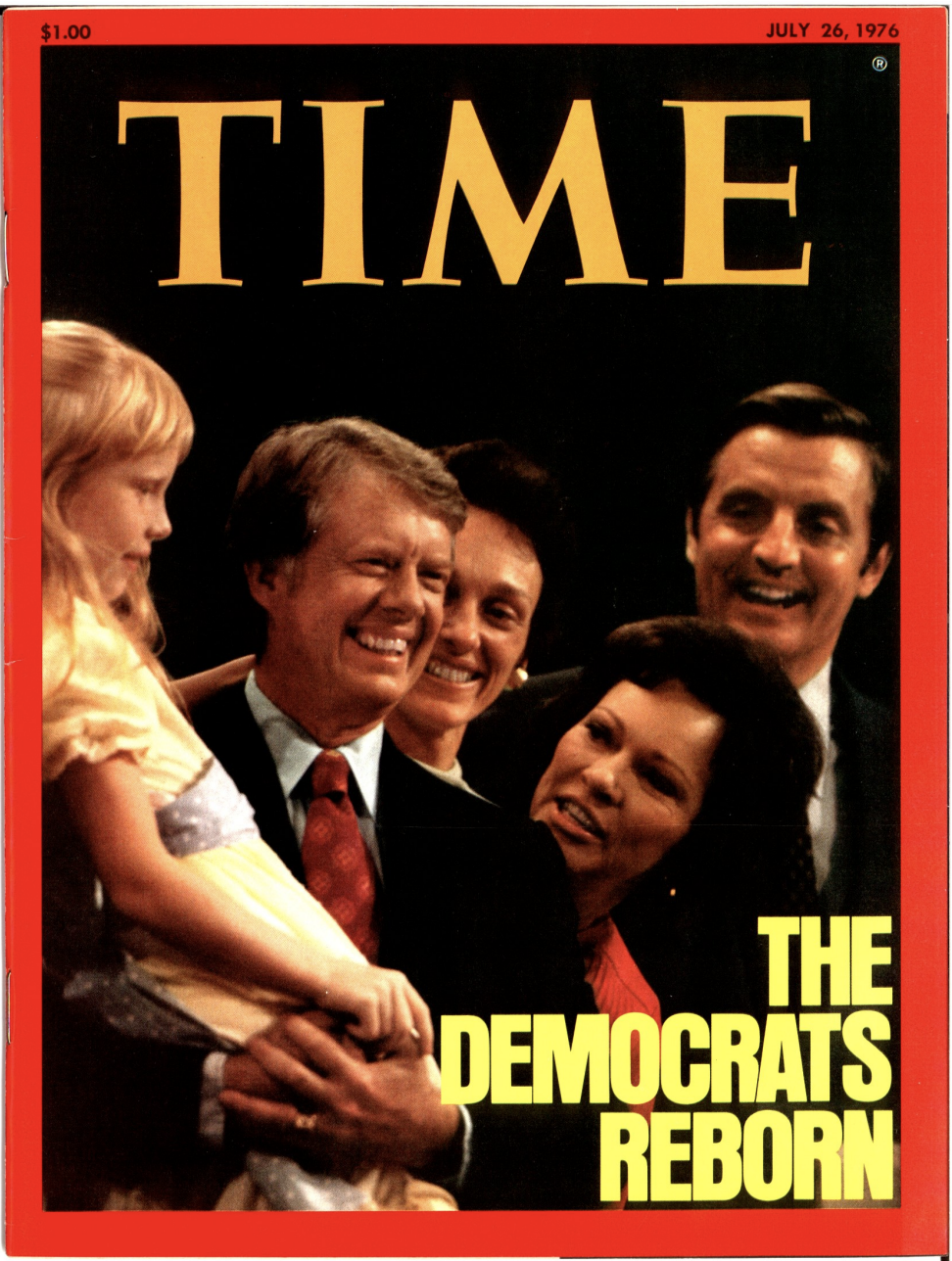 The cover of TIME Magazine the week of July 26, 1976