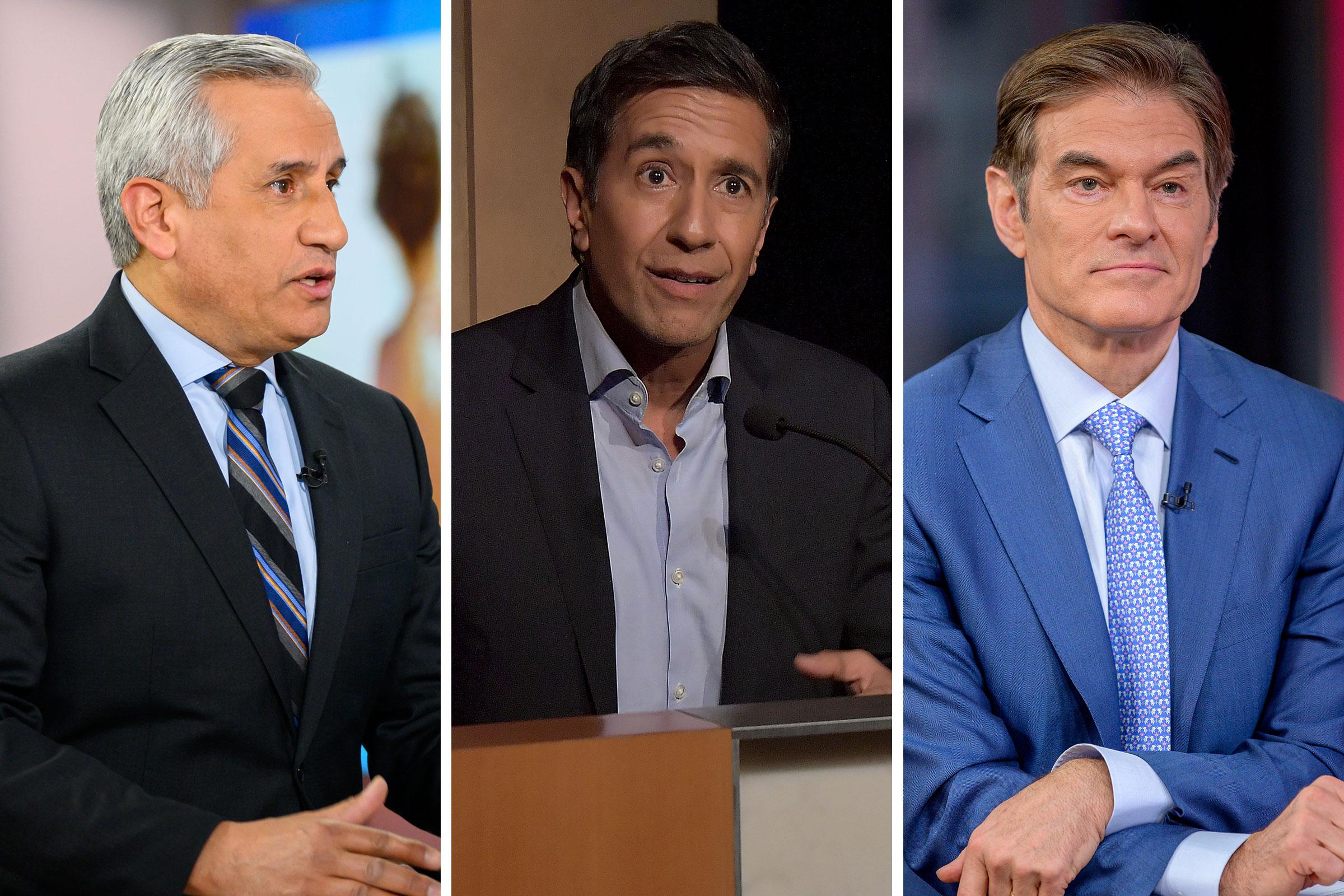 Dr. John Torres; Dr. Sanjay Gupta; Dr. Oz