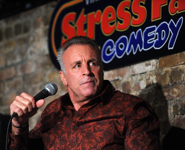 Vic DiBitetto performs at The Stress Factory Comedy Club in New Brunswick, N.J., on Nov. 1, 2019