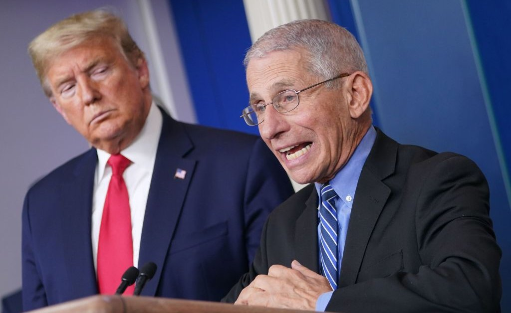 Fauci on Life After Coronavirus: We Should Never Shake Hands Again ...