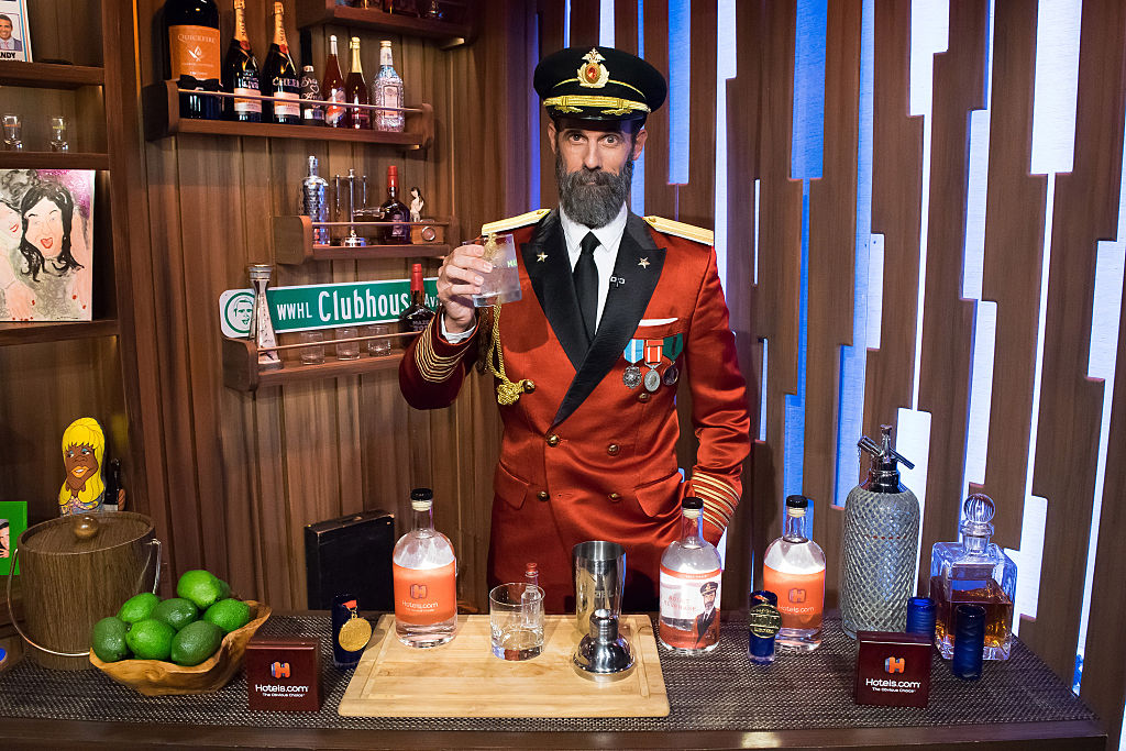 Hotels.com mascot 'Captain Obvious' appears on Bravo's 'Watch What Happens Live.'
