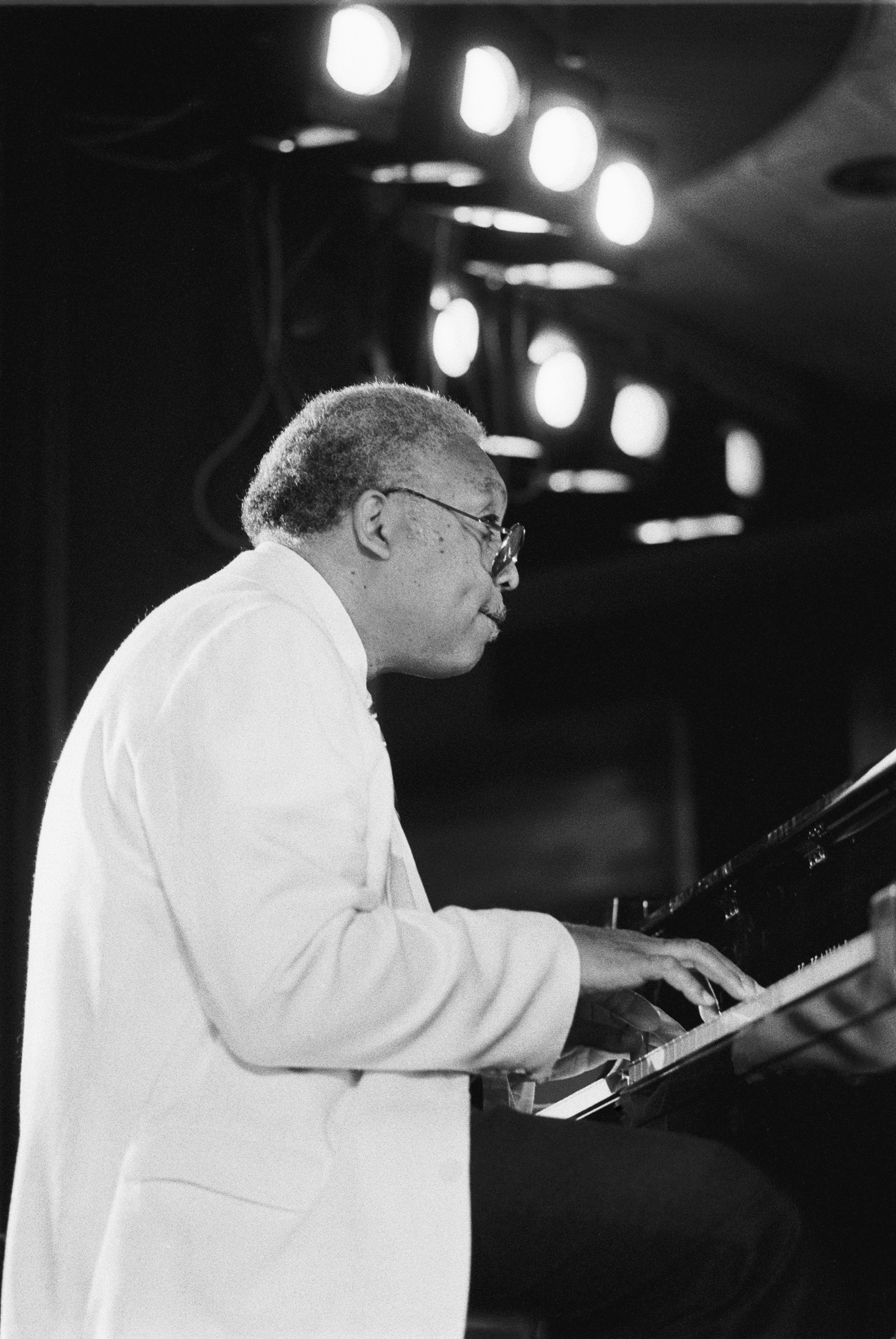 Marsalis, also the father of jazz musicians Branford and Wynton, performing in 1990