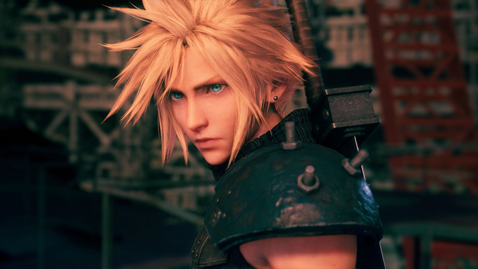 A still from 'Final Fantasy VII Remake.'