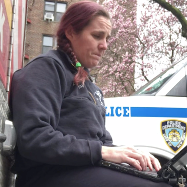 Megan Pfeiffer is a paramedic with the New York Fire Department (FDNY). She says she's never seen anything like the crisis that's happening in New York City amid the Coronavirus outbreak.