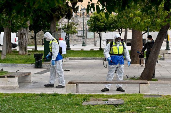 Greece Imposes Lockdown To Control Coronavirus Outbreak