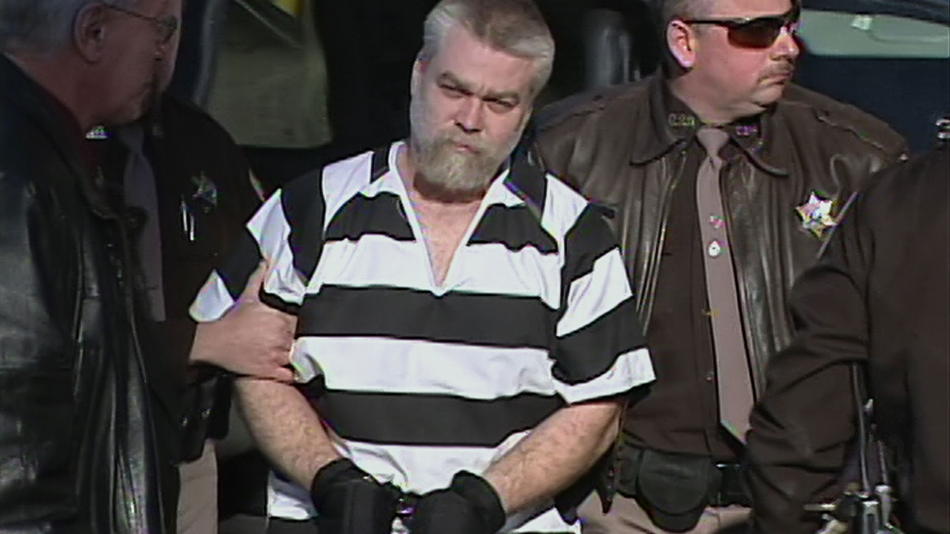 Steven Avery in the Netflix series 'Making A Murderer'