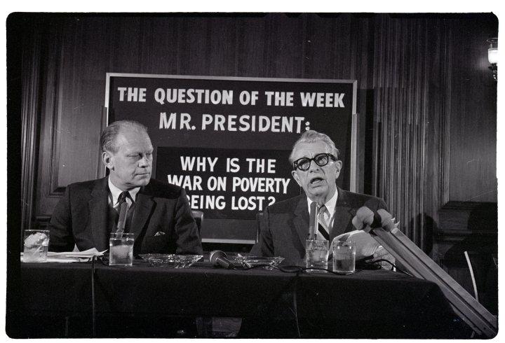 Gerald Ford and Sen Everett Dirksen Comment