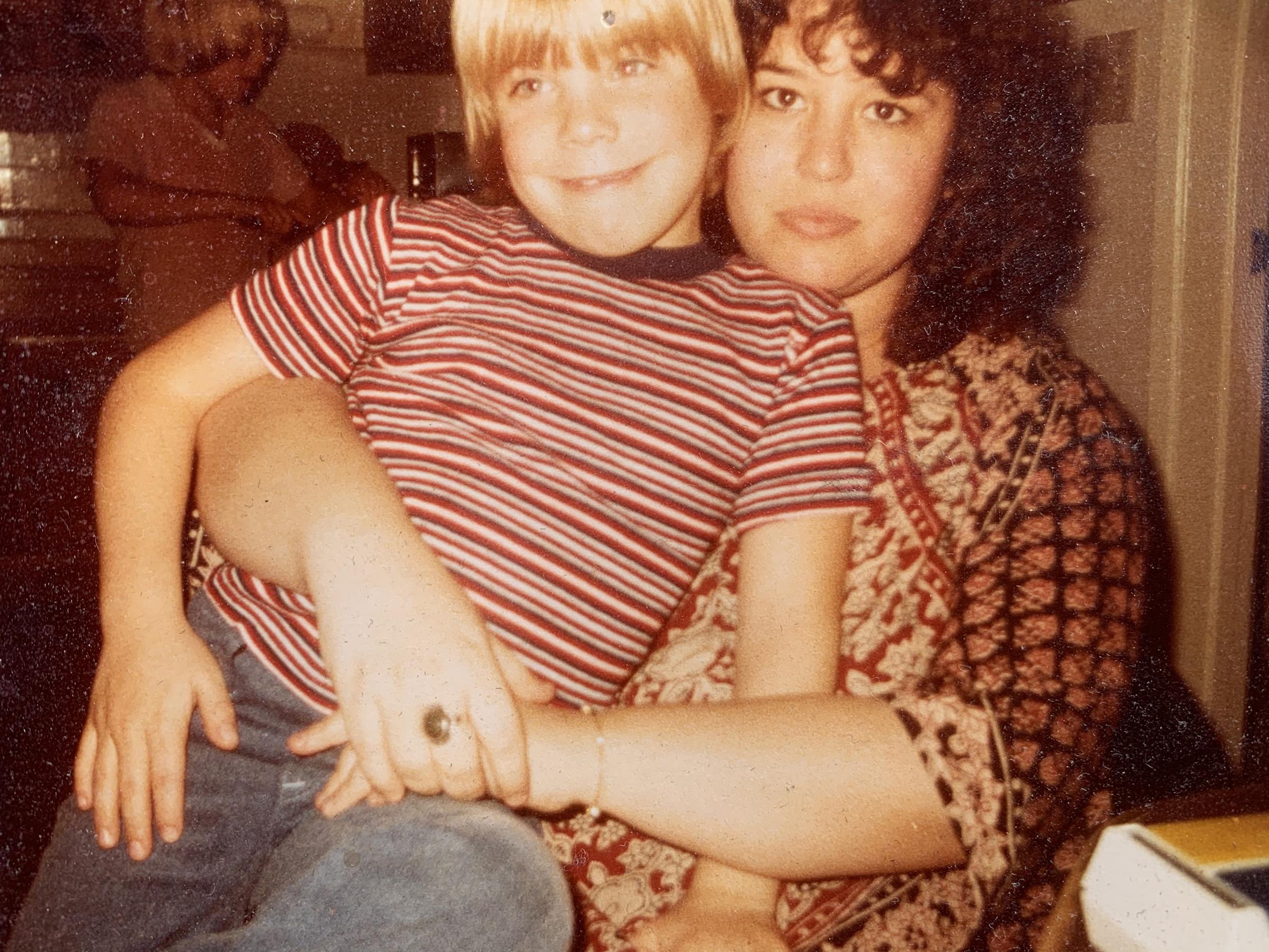 Mikel Jollett with Bonnie Lou Jollett