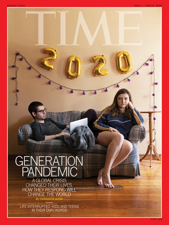 Generation Pandemic Time Magazine Cover