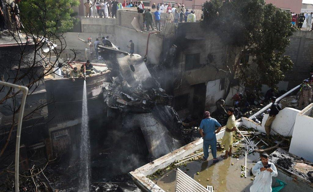 Pakistani Passenger Plane Crashes Near Karachi | Time
