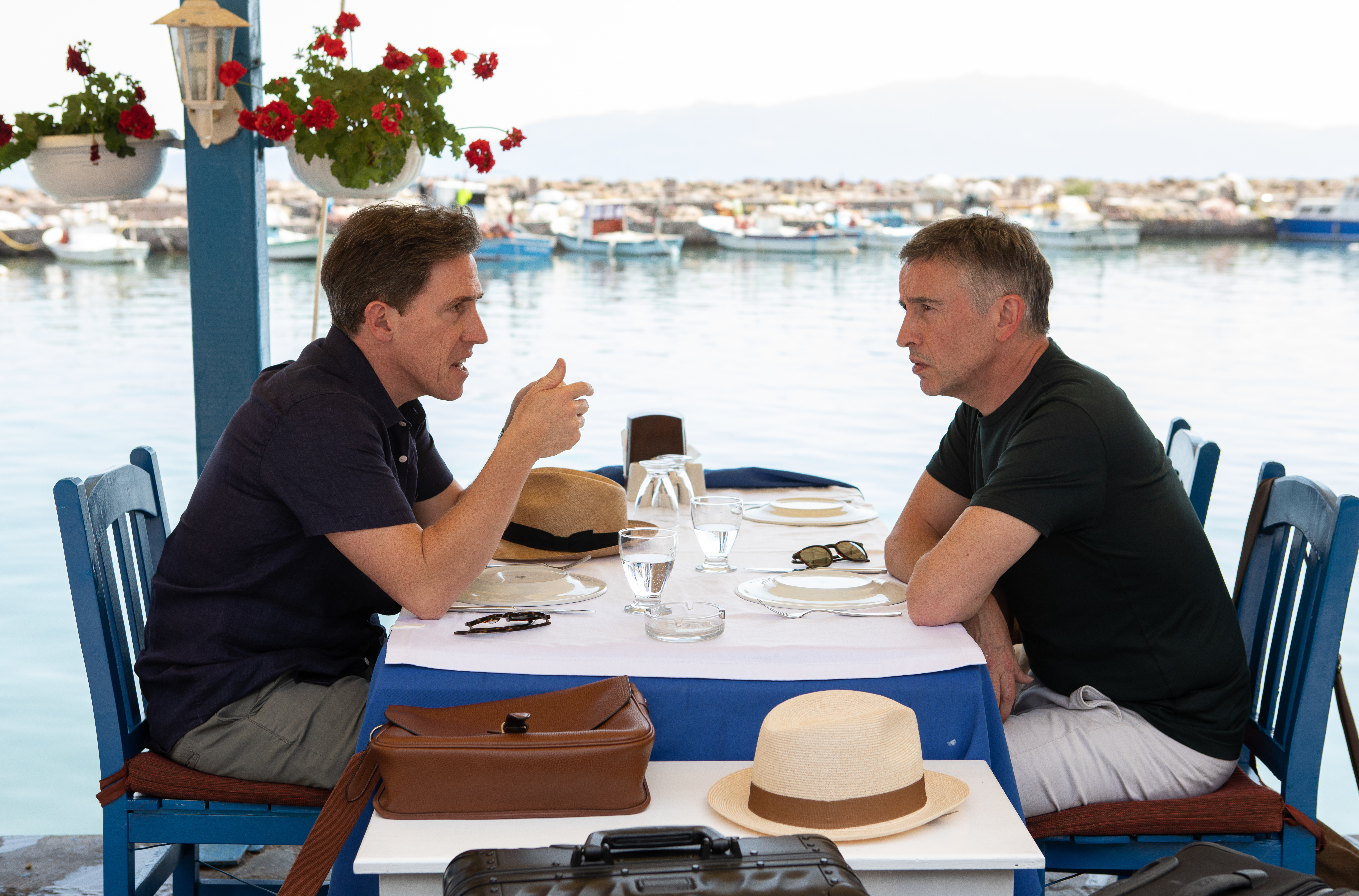 Rob Brydon and Steve Coogan in Michael Winterbottom's 'The Trip to Greece.'