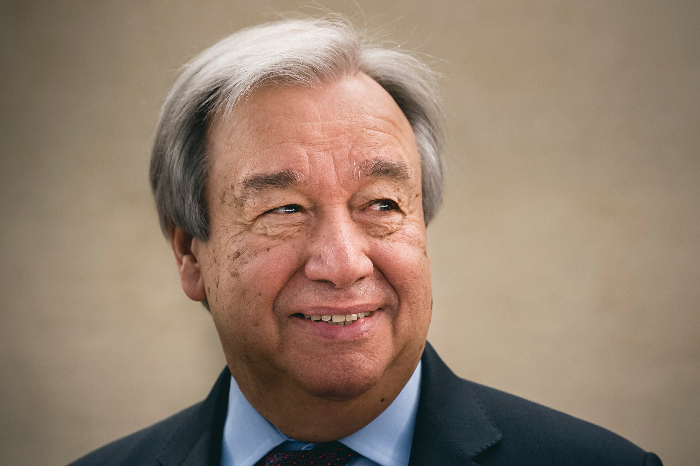 Antonio Guterres, Secretary General of the United Nations, admitted to the 43rd Human Rights Council at the Palais des Nations, on Feb. 24 in Geneva, Switzerland