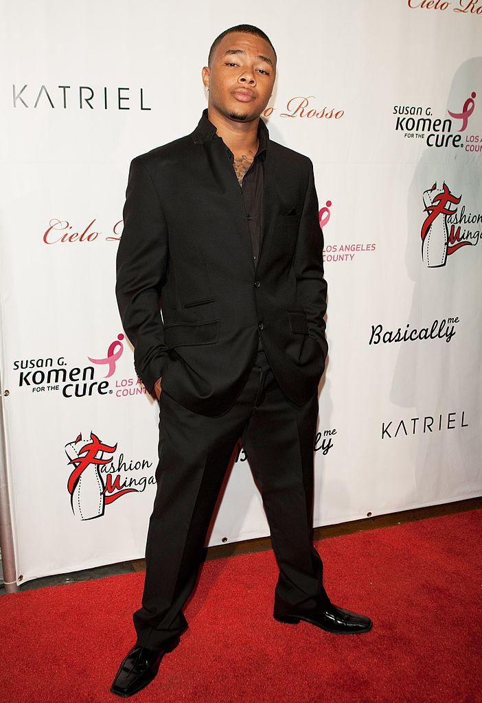 Gregory Tyree Boyce attends LA Fashion Week Fashion Minga 2012 Event at Exchange LA on October 18, 2012 in Los Angeles, California.