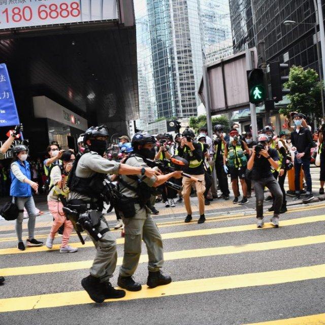 Hong Kong Anthem Bill Sparks Renewed Protests