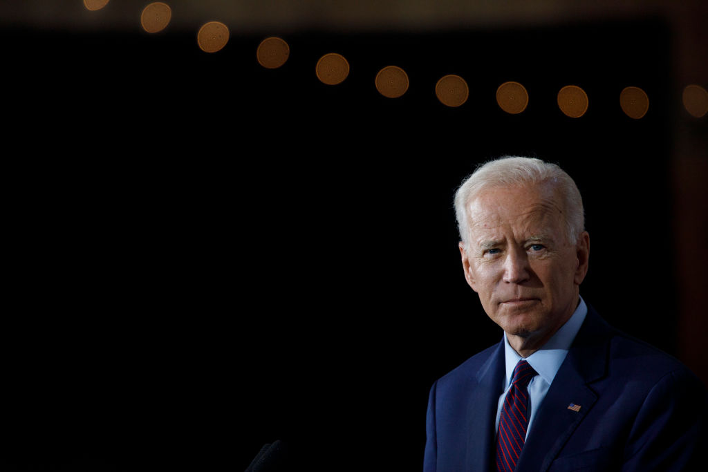 Democratic presidential candidate and former U.S. Vice President Joe Biden denied allegations that he sexually assaulted a former Senate staffer in the 1990s.