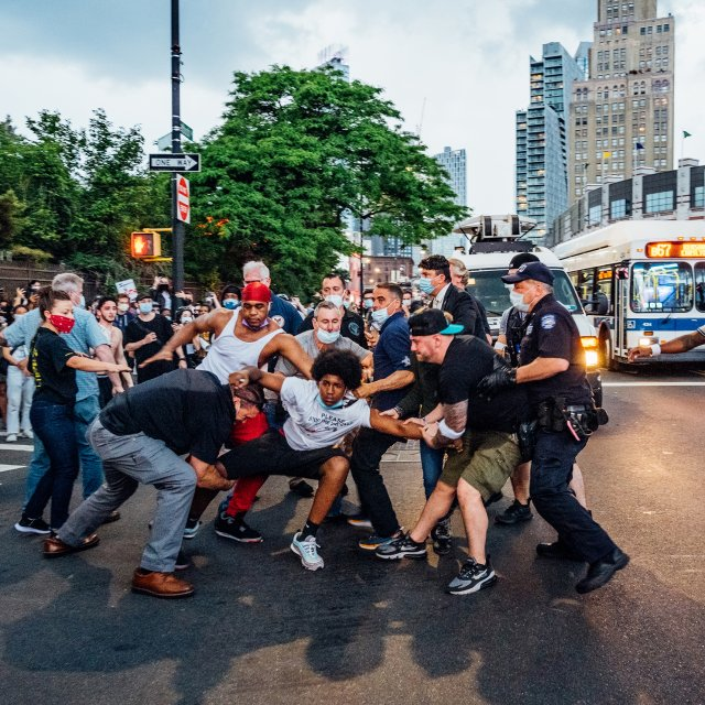 Photographing New York's George Floyd Protests
