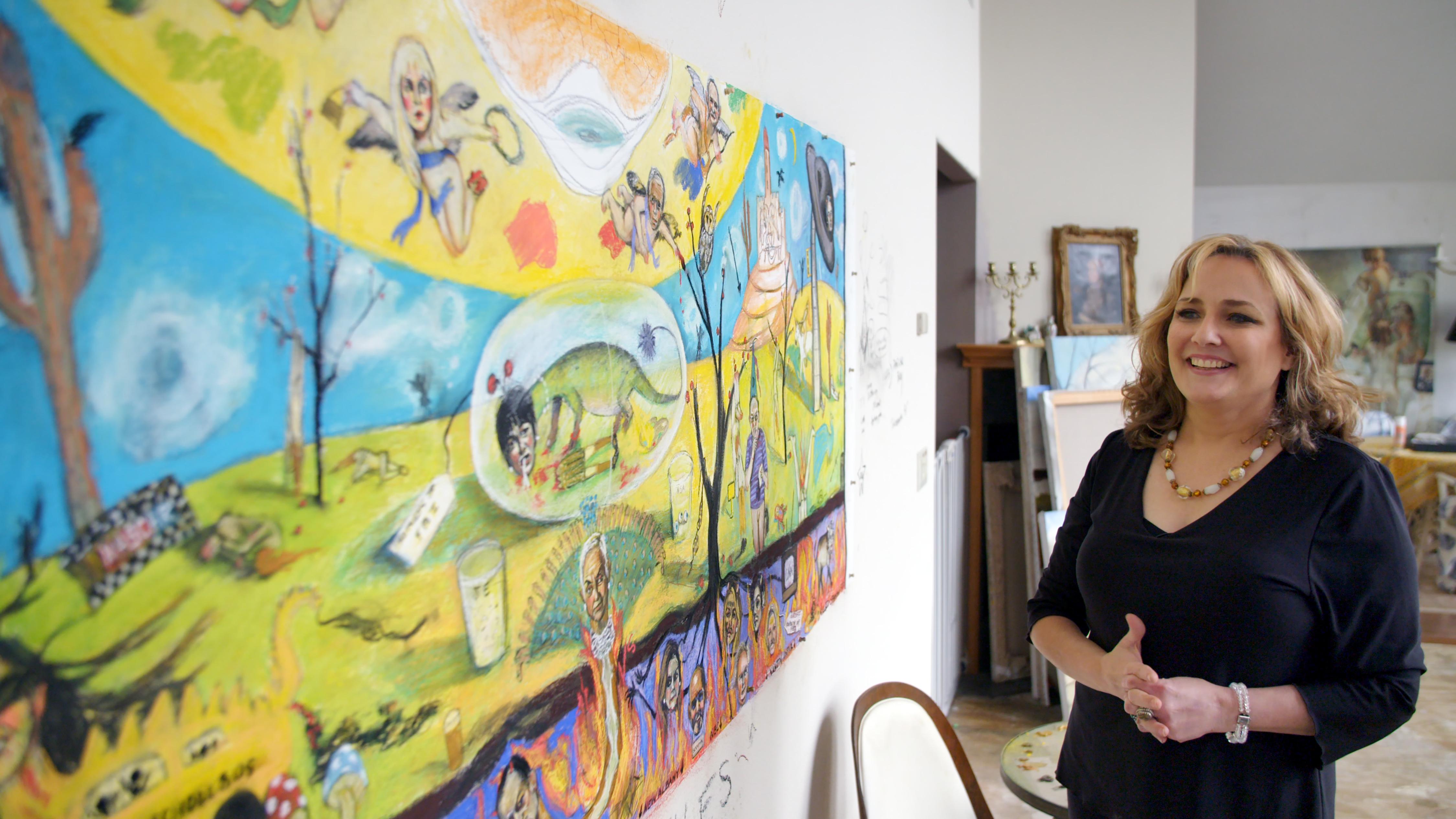 Maria Farmer in 'Filthy Rich'