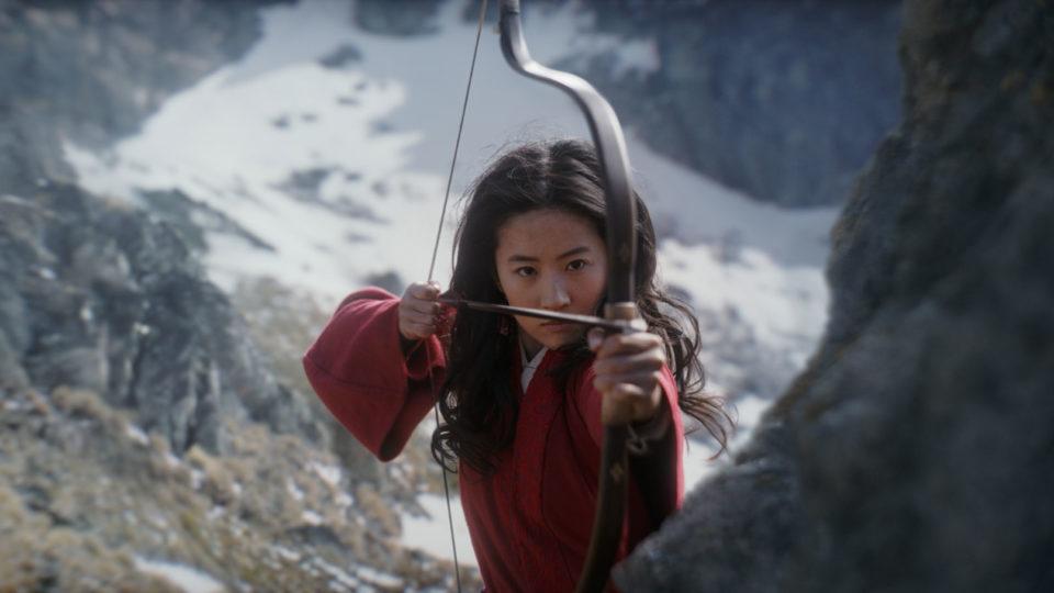 lou Yifei in Mulan