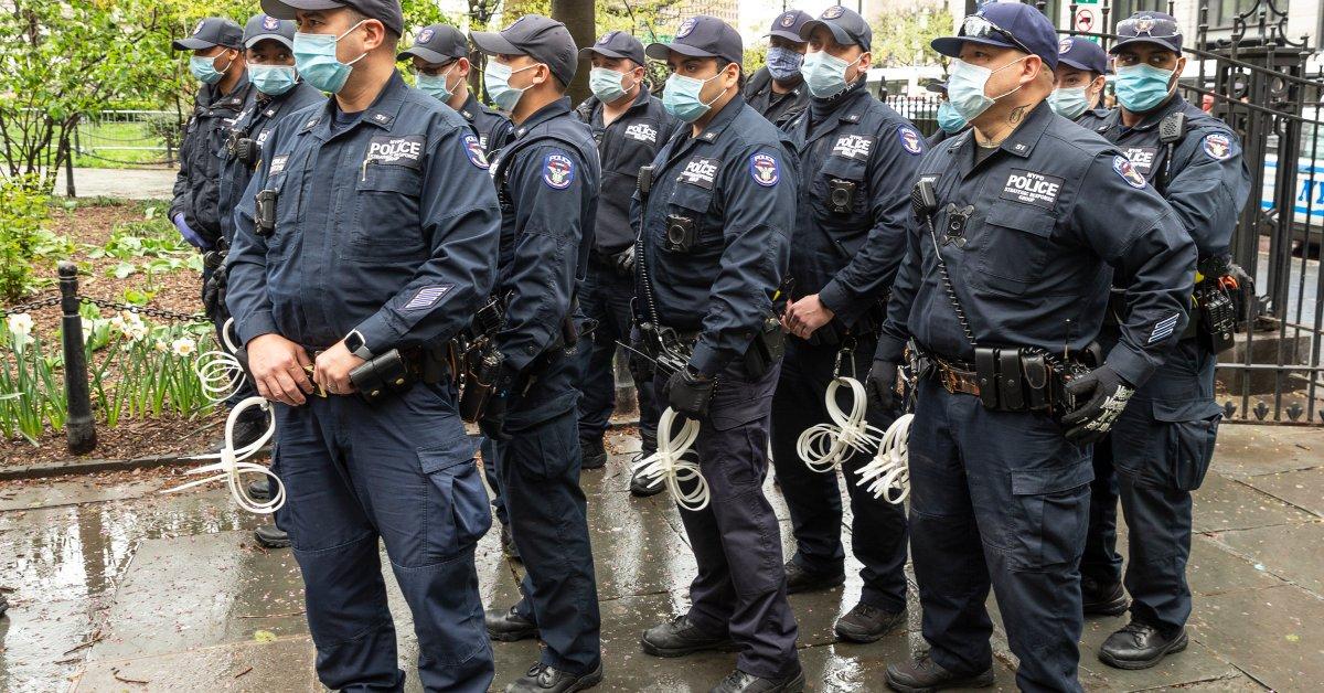 Полицейские данные обнаруживают резкие расистские расхождения в правоприменительной практике социального распределения по всему Нью-Йорку thumbnail