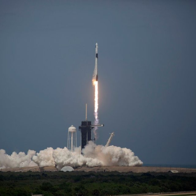 SpaceX Crewed Launch Puts America Back in Elite Group