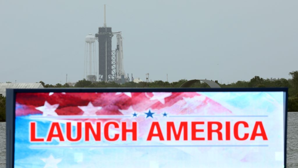 Stormy Weather Threatens to Delay First SpaceX Astronaut Launch